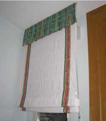 Estores plegables verticolor fabrica estores y cortinas for Tipos de cortinas y estores