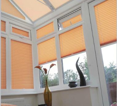 cortinas plisadas aluminizadas