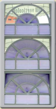 cortinas plisadas con formas